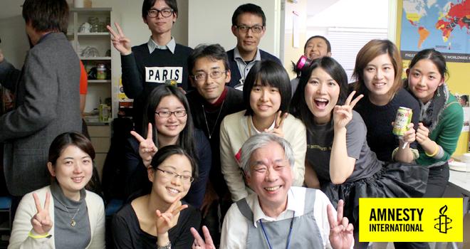 【国際人権NGOアムネスティ】イベント企画・運営ボランティア大募集!