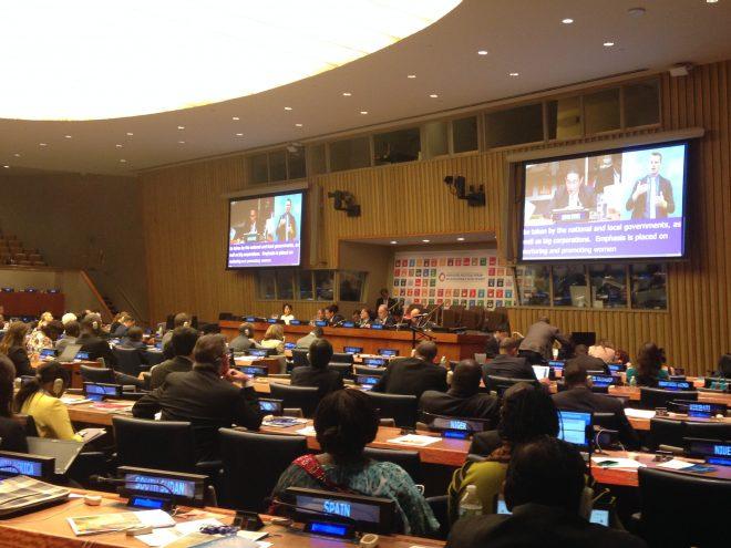 NY・SDGs ハイレベル政治フォーラム出張報告-2019年に向け、日本の市民社会で結束を