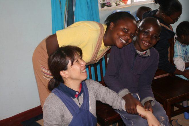 【JOCS勉強会10/13金】ケニアの障がい児への療育支援
