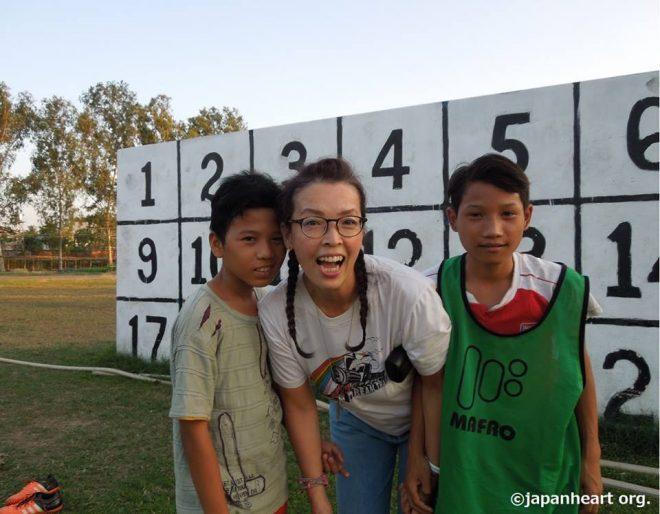 ミャンマー駐在:養育施設でのスポーツ指導ボランティア