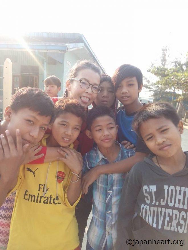 ミャンマー駐在:【看護師限定】養育施設ボランティア