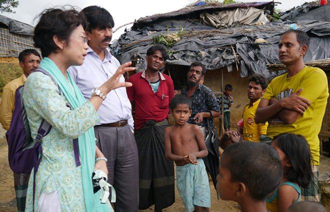 緊急報告会「ロヒンギャ難民の今~バングラデシュ 現地の現状と今後に向けて~」(10/26)
