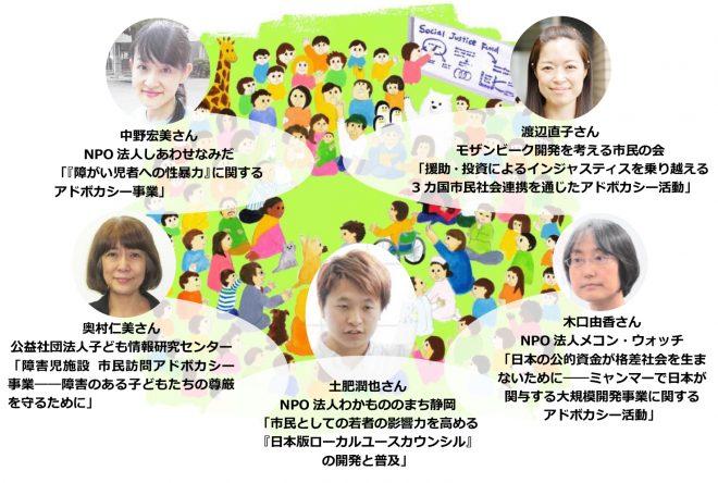 ソーシャル・ジャスティス基金(SJF)助成発表フォーラム第6回 参加者募集