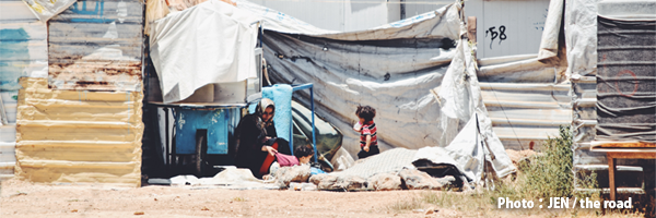 【12/21】JEN ヨルダン活動報告会開催!『8万人が暮らすシリア難民キャンプの今』