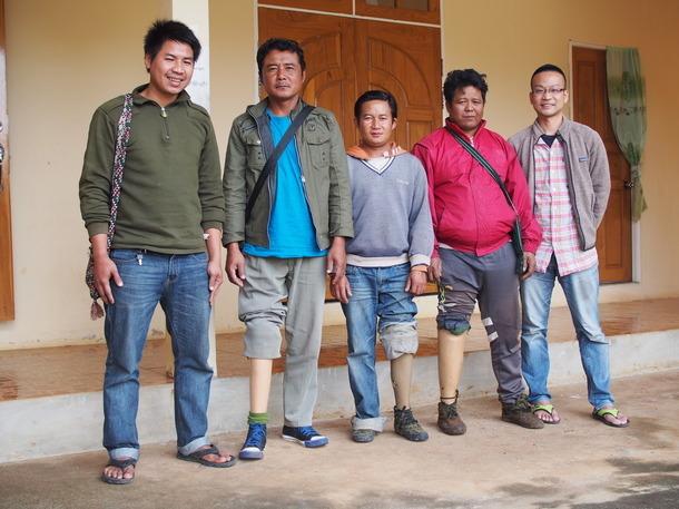 3月20日/ミャンマー情勢と地雷被害者支援報告