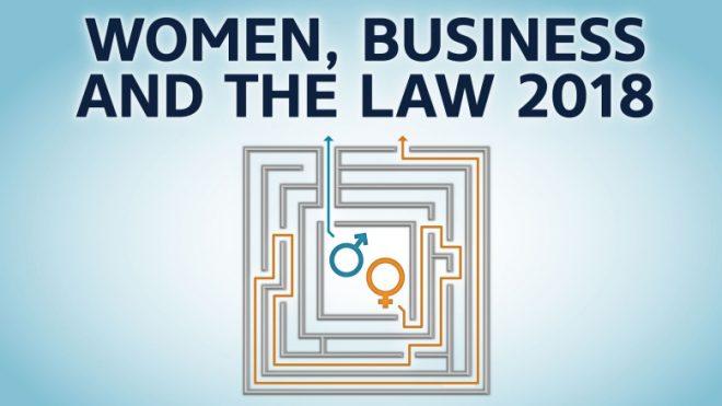 【5月30日(水)開催】世界銀行モーニングセミナー(第4回)「女性・ビジネス・法律2018」