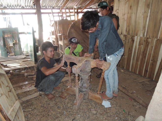 ミャンマー派遣「有償ボランティア技術専門家」(大工職)