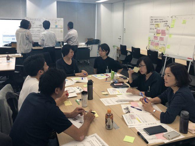 日本IBM様よりプロジェクトマネジメント・ワークショップを実施いただきました
