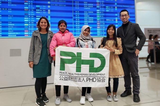 PHD37期研修生来日報告会 開催のお知らせ