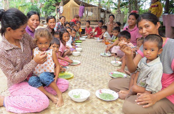 栄養がカギ!カンボジア人ゲストに学ぶNGOのコミュニティ活動