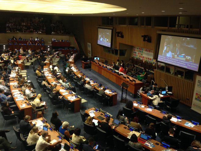 4年目の国連SDGsレビュー会合で、目標16(平和と公正)が初めてレビュー対象に