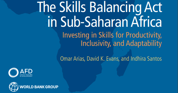 【9月17日(火)開催】世界銀行グループTICADセミナーシリーズ第24回「サブサハラ・アフリカにおける技能向上のために:生産性、包摂性、適応性のための技能への投資」