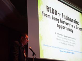 国際セミナー「REDDプラス・始動元年2020 – 持続可能な開発のための国際移転可能な成果に向けて」