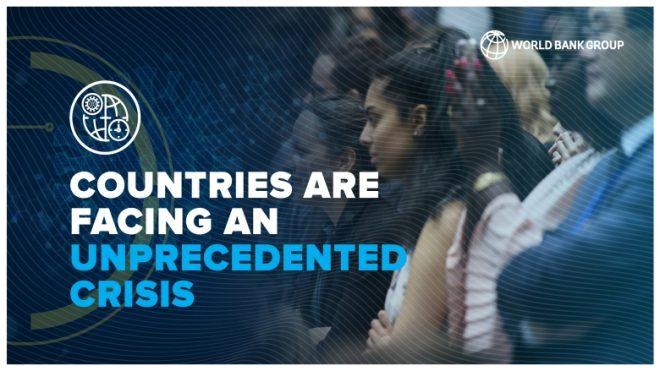 【7月3日(金)オンライン開催】世界銀行モーニングセミナー(第70回)「人々と経済を守る:新型コロナウィルス感染症に対する総合的な対応」