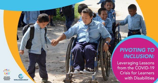 【9月18日(金)オンライン開催】世界銀行モーニングセミナー(第77回)「包摂性へ方向転換:障害を持つ学習者のために新型コロナウィルス感染症拡大からの教訓を活用する」