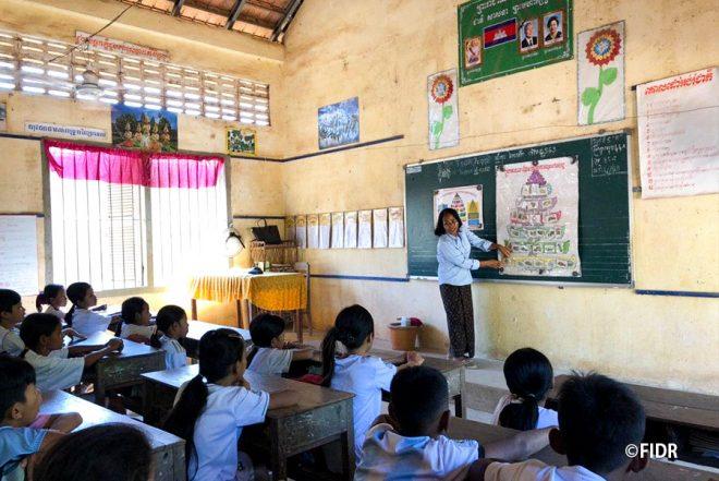 【11/7】FIDR現場レポVol.2 ~カンボジアの学校で栄養教育を!でもその前に?」