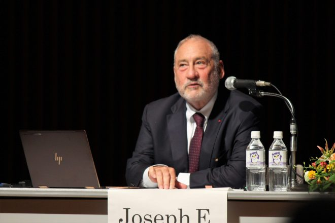 スティグリッツ教授(ノーベル経済学賞)セミナー「グローバル化する世界とアフリカ」の動画公開