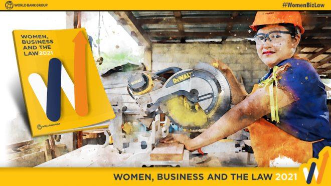 【3月26日(金)オンライン開催】世界銀行モーニングセミナー(第97回)「女性・ビジネス・法律2021」