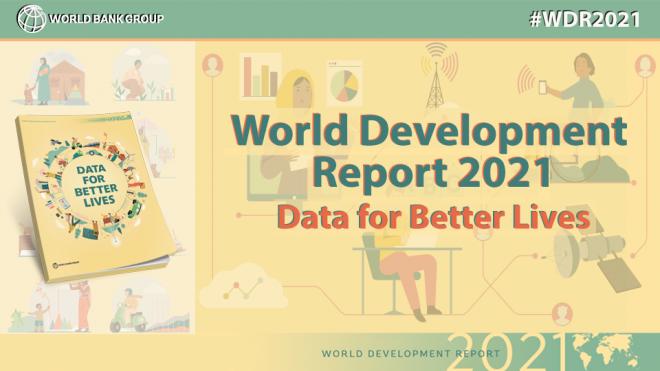 【7月27日(火)オンライン開催】セミナー「世界開発報告(WDR)2021:生活向上のためのデータ活用」